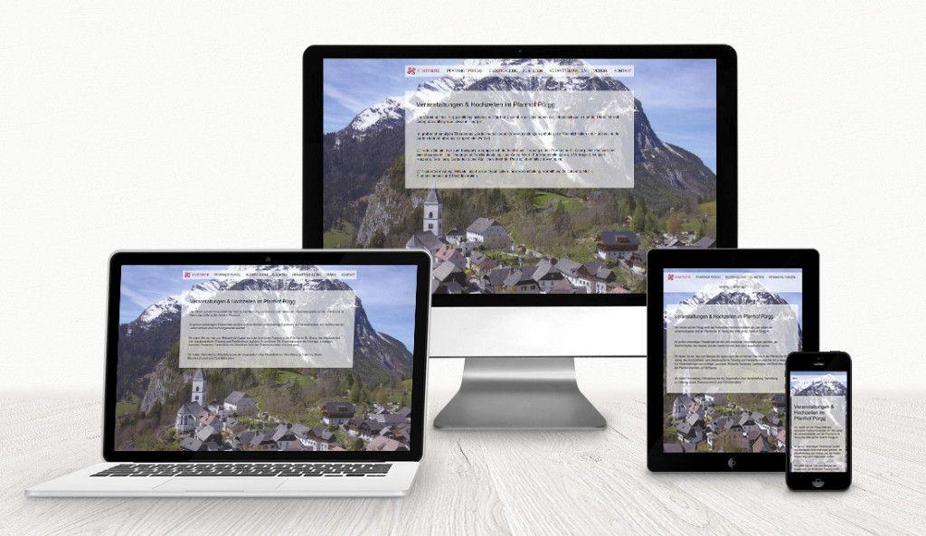 Webdesign Verein auf der Pürgg WebdesignLand