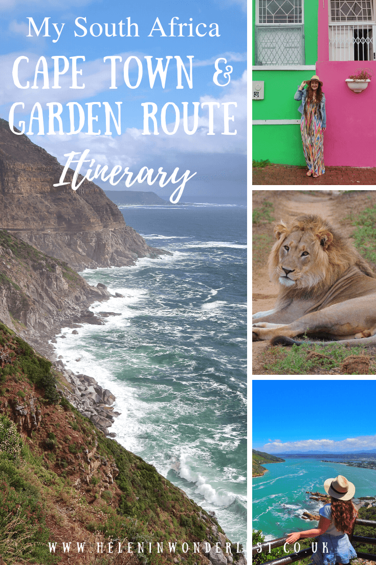 South Africa Cape Town & Garden Route Itinerary (With