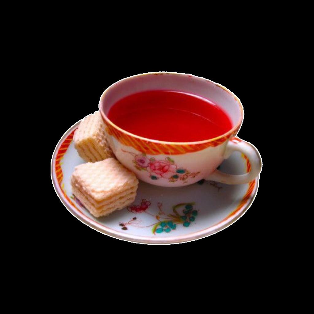 Red Pink Tea Polyvore Moodboard Filler Food Png Tea Cups Tea