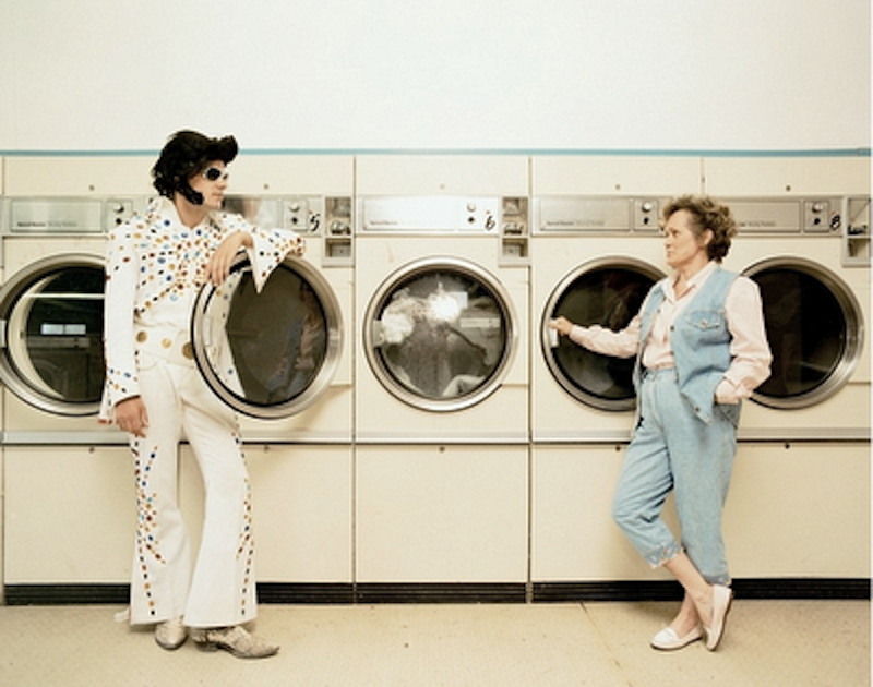 "Laundromat in Las Vegas, New Mexico - ""Elvis & Presley"" Robert Huber"