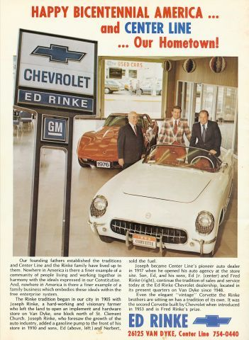Ed Rinke Chevrolet | Old Pix | Pinterest | Chevrolet and Detroit