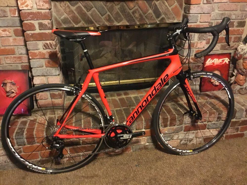 Cannondale Synapse Carbon Fiber 105 56cm Road Bike Roadbike Cannondale Road Bike Bike