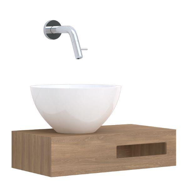 Leava Lecce toiletmeubel met kraan CAS10A021142   Badkamermarkt.nl ...