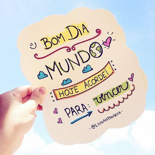 Imagens Com Mensagens De Bom Dia Frases Frases Bonitas