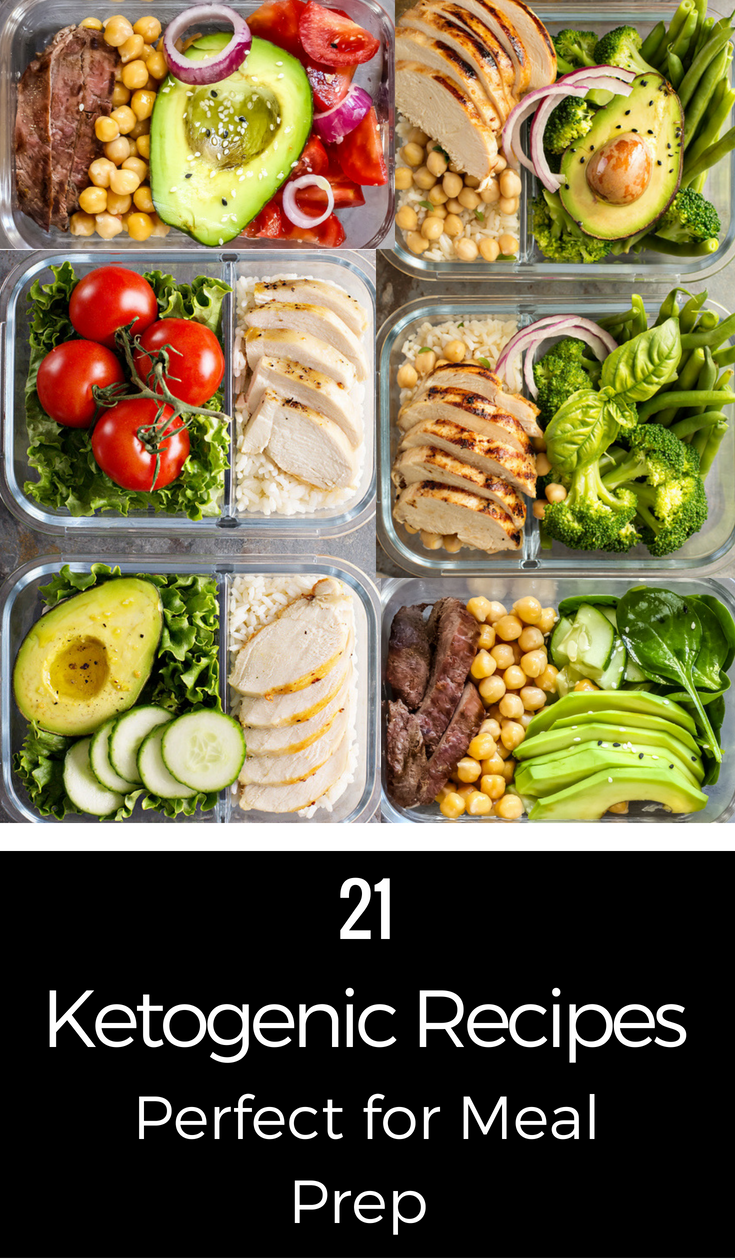Keto Meal Prep: 21 Foods to Help You Stick to Your Meal Plan