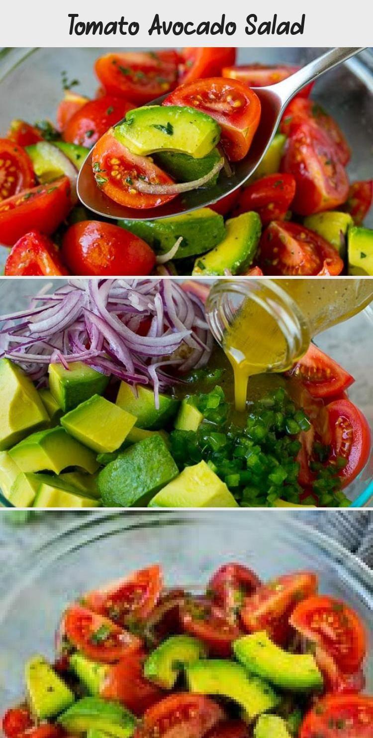 Tomato Avocado Salad Recipe   Avocado Salad   Tomato Salad