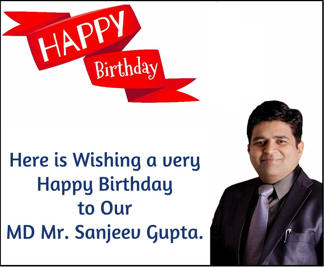 Here is wishing a very Happy Birthday to the most amazing boss Mr. Sanjeev Gupta​. Your passion and guidance in Global Advertisers has helped us grow day by day. On this day, We wish you growth and prosperity in all life aspects. Thank you for being a constant inspiration.