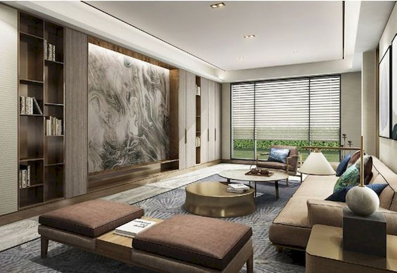 45 Impressive Chinese Living Room Decor Ideas
