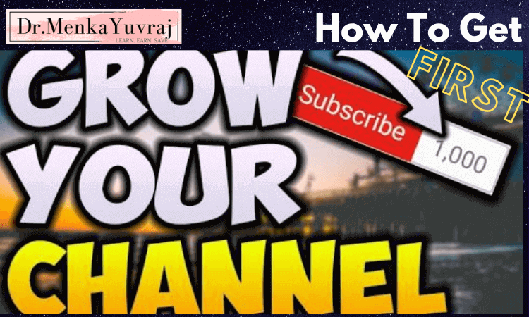 How To Get 1000 Subscribers On YouTube FREE – What I Did??