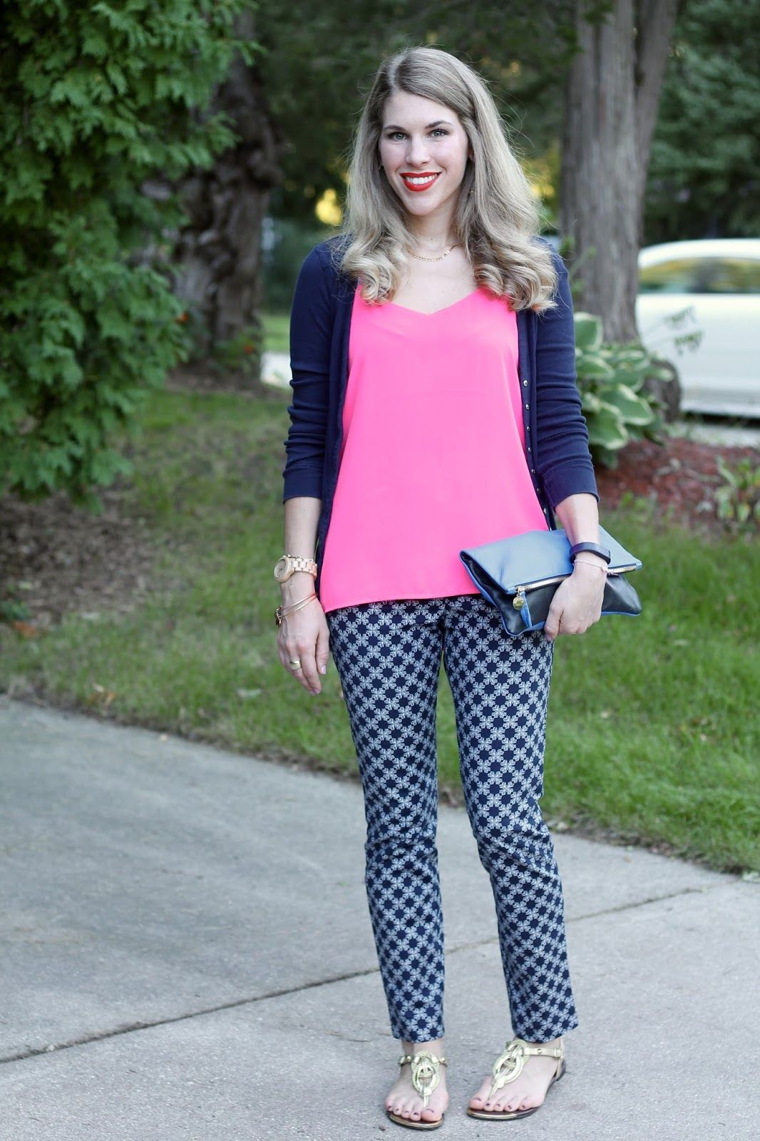 To acquire How to blue wear patterned pants pictures trends