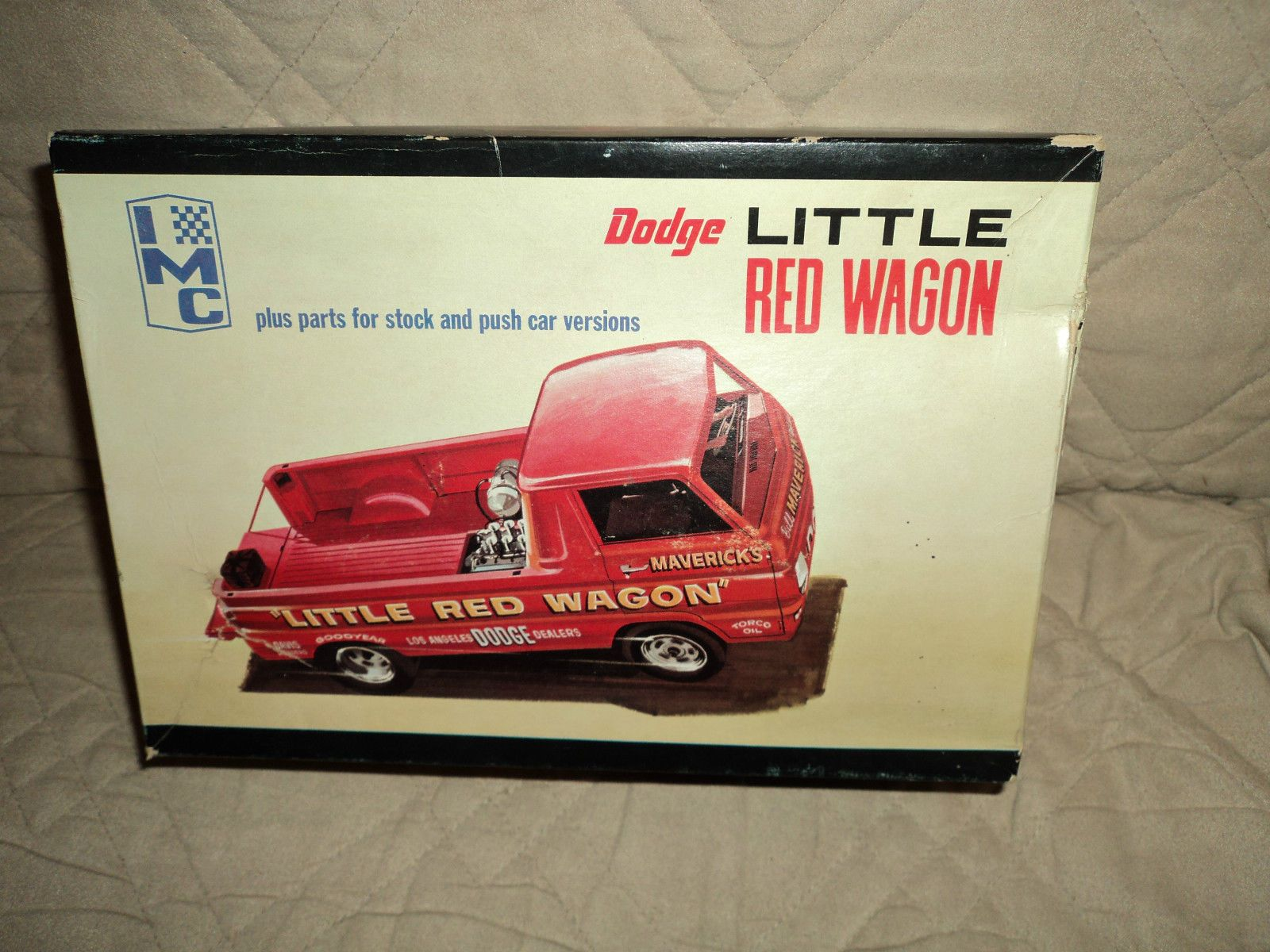 Vintage IMC Dodge Little Red Wagon Model Kit 107 200 Has ...