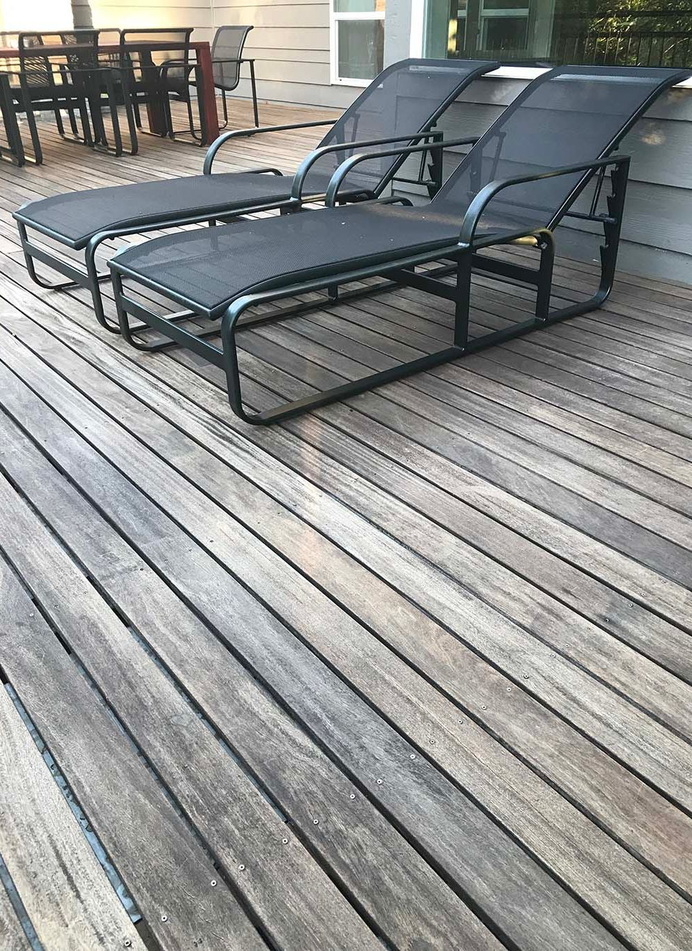 Aged Cumaru Brazilian Teak Deck Can Be Brought Back To Life By Using A Penetrative Hardwood Oil Cumaru Decking Hardwood Decking Deck Design