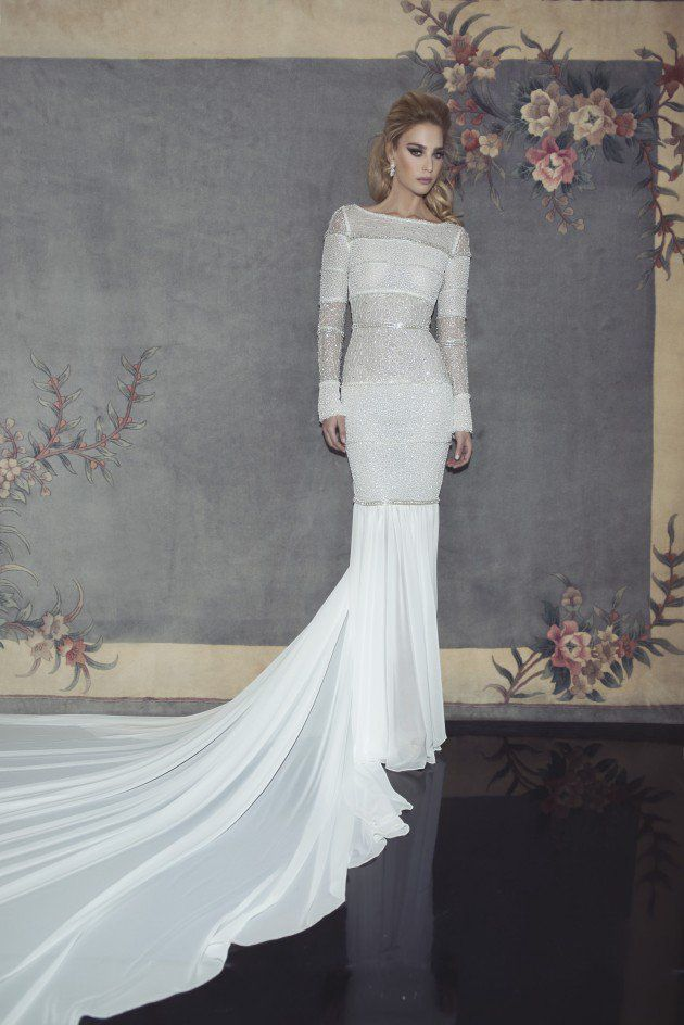 Extravagant Wedding Dresses 2015 by Dany Mizrachi