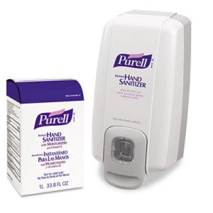Purell Nxt Space Saver Hand Sanitizer Dispenser And Refill Hand