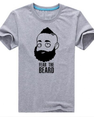 3dbd7ec6d25 James Harden fear the beard t shirt for men short sleeve
