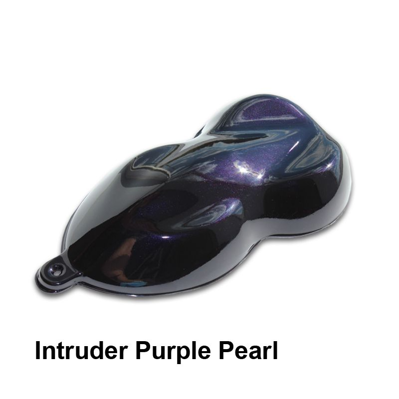 Intruder Purple Pearl Paint Is A Dark That Can Ear Black With Shimmer