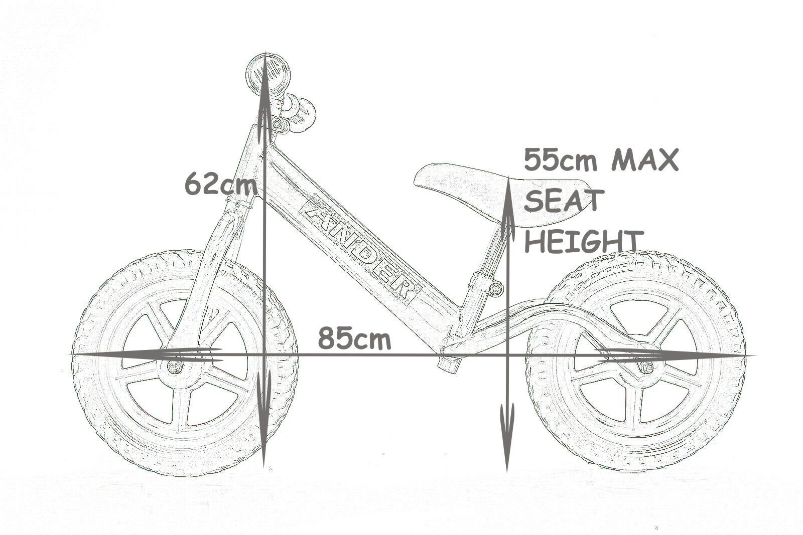 Childrens Learning Balance and Co-Ordination Bike 2-5 Years Young ...