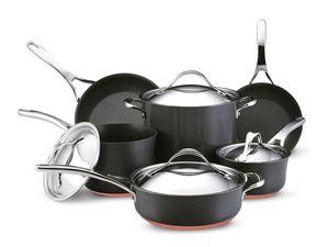 Anolon Nouvelle Copper Nonstick Cookware Review Ceramic Cookware