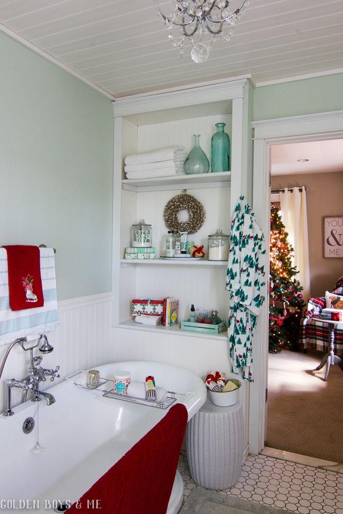 Tropical Bathroom, Christmas Bathroom