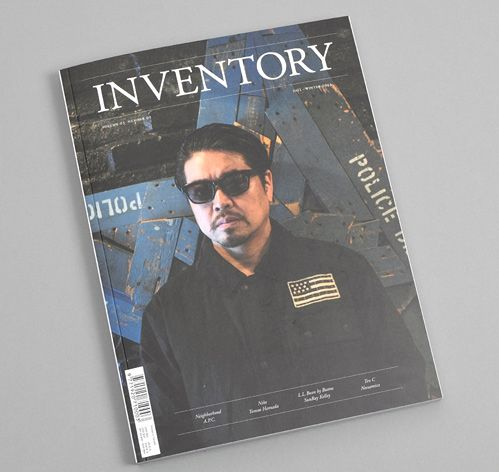 INVENTORY MAGAZINE: Volume 5, Number 9, Shinsuke Takizawa Cover