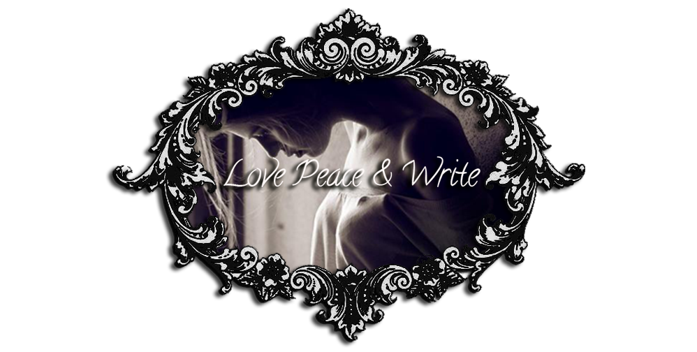 Love Peace and Write: Novo Logotipo... Que acham?