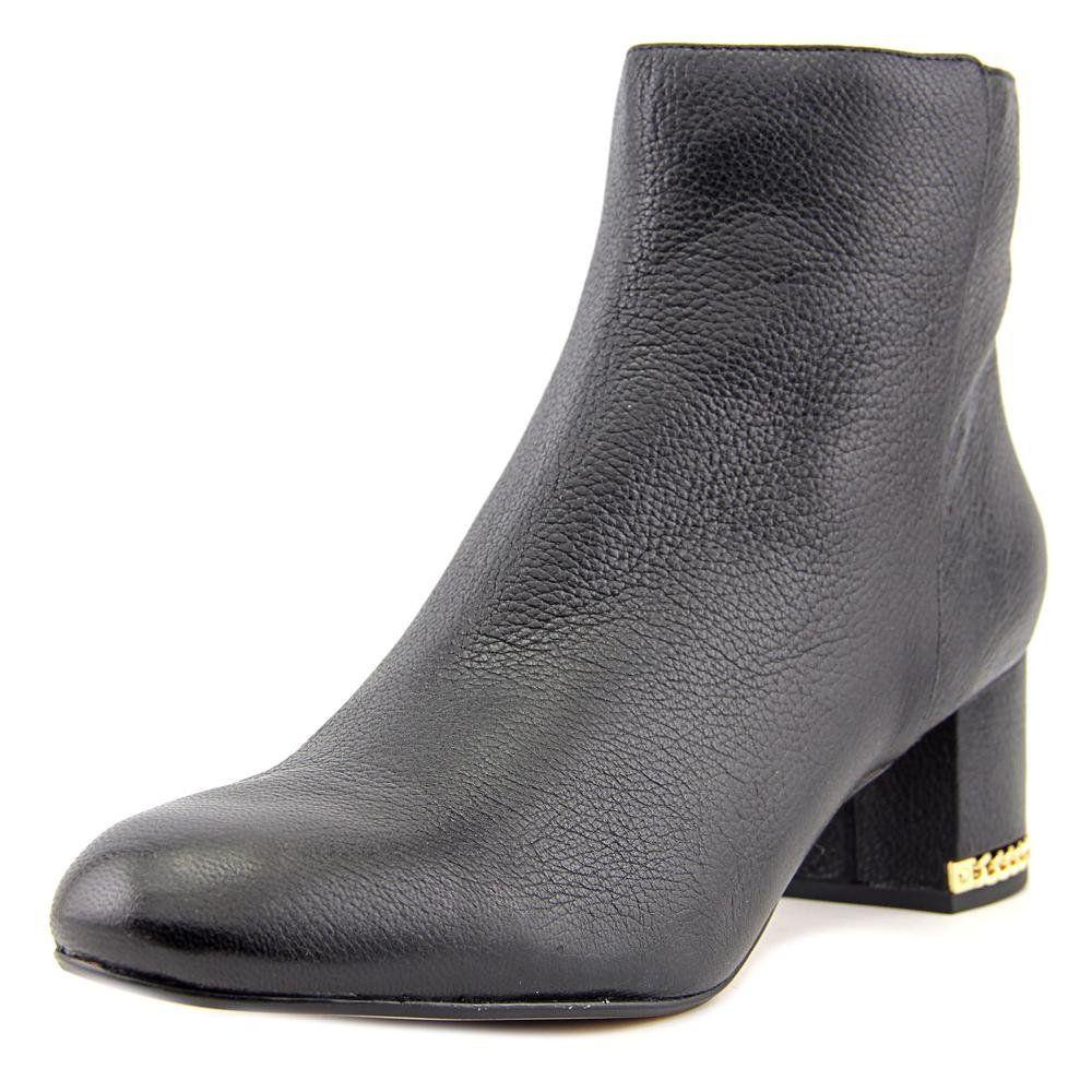 Michael Michael Kors Womens Sabrina Boot Leather Closed Toe