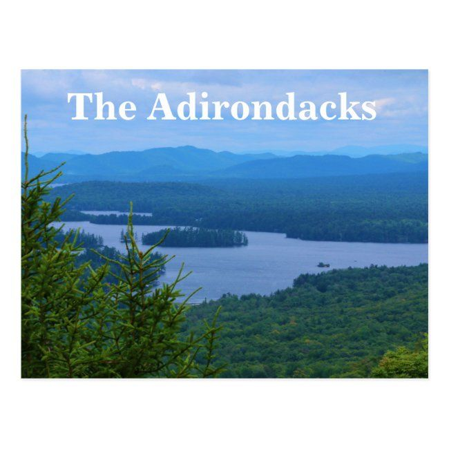 The Adirondack Mountains Postcard #postcard #zazzle.com #new #arrivals #the #Postcard