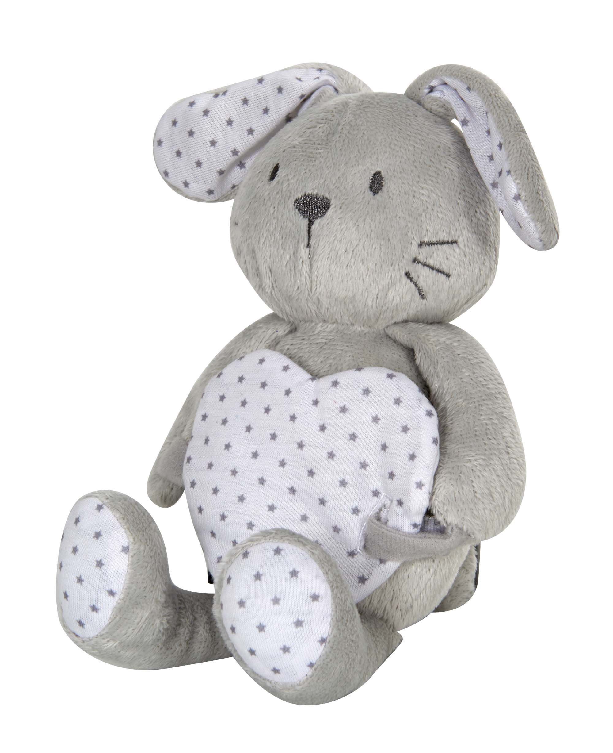 Bieco/'s  Baby Collection Schnuffeltuch Schaf mit Rassel