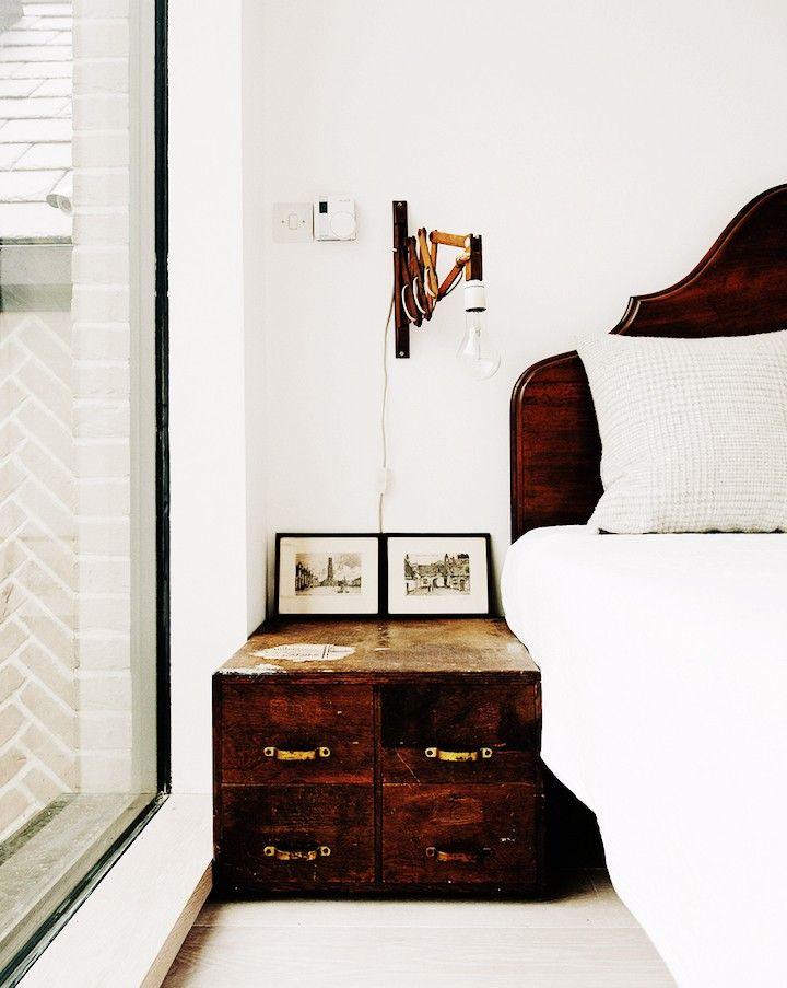 Design Magic Happens When Contemporary Design Meets Rustic Style via @MyDomaine