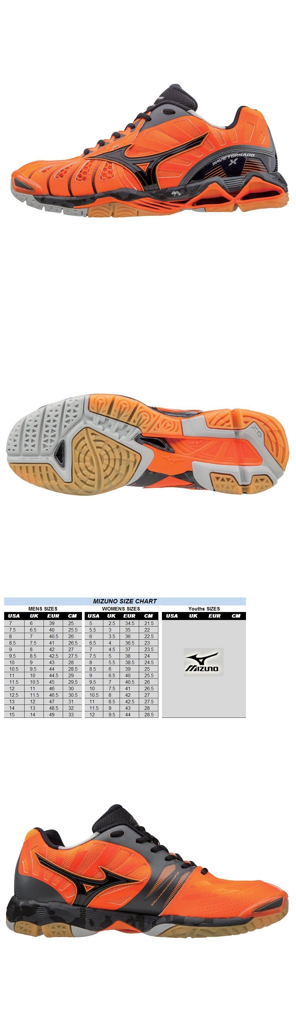 Clothing 159130 Mizuno Mens Wave Tornado X Volleyball Shoes Orange And Black 430201 Buy It Now Only 12 Best Volleyball Shoes Volleyball Shoes Shoes Mens