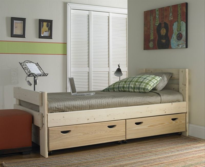 Beds With Storage Benefits For Space Saving Bed With Drawers
