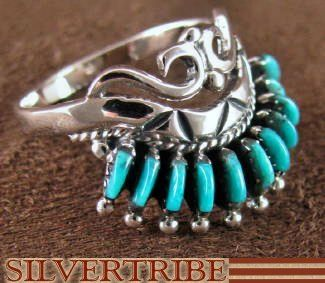 Turquoise Jewelry Sterling Silver Ring