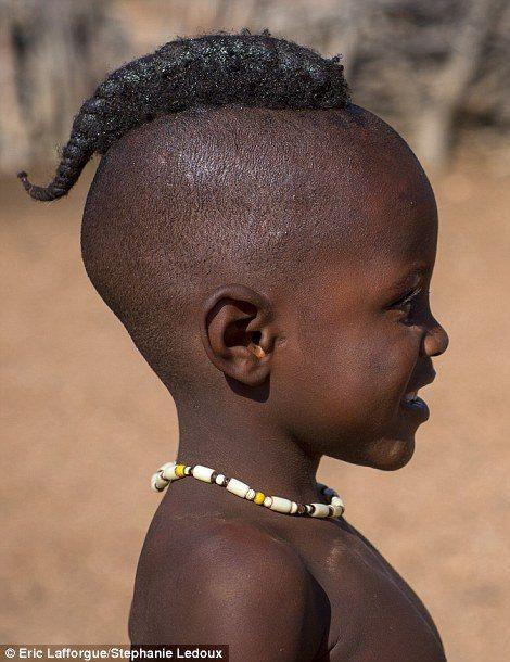 Namibian Himba young boy