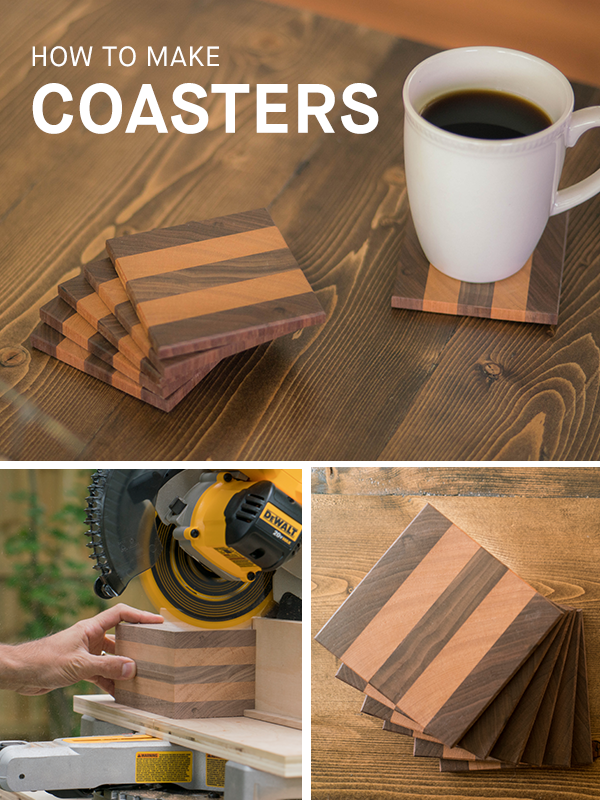 Whether Youre Making Them For Yourself Or Giving As A Gift Wooden Coasters Are Always Crowd Pleaser In This Intermediate Level Project