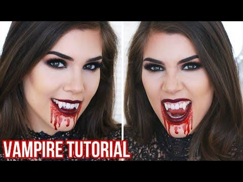 Sexy V&ire Halloween Makeup Tutorial | Quick Easy And Cheap Halloween Costume Ideas!  sc 1 st  Pinterest & Sexy Vampire Halloween Makeup Tutorial | Quick Easy And Cheap ...
