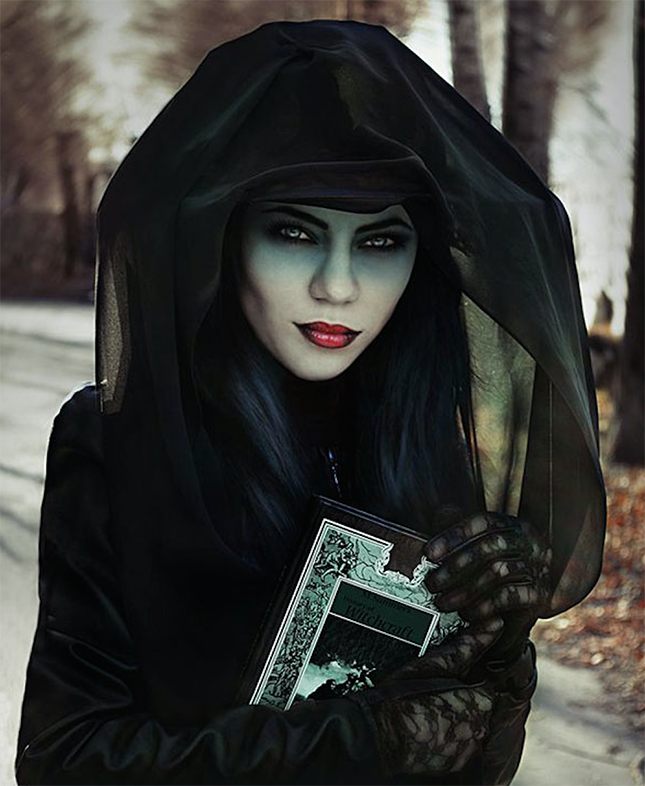 14 Scary Chic Halloween Costumes Witch Halloween Costume Halloween Costumes Makeup Halloween Make