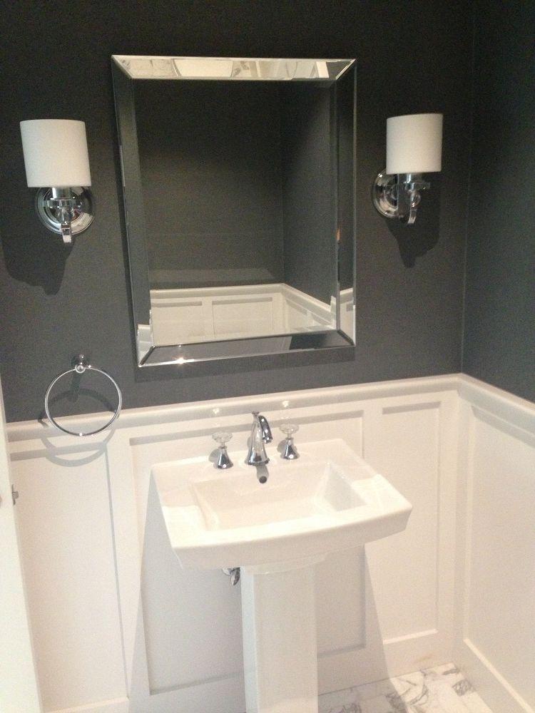 Picture Kohler Archer Pedestal Sink Powder Room Sink Powder