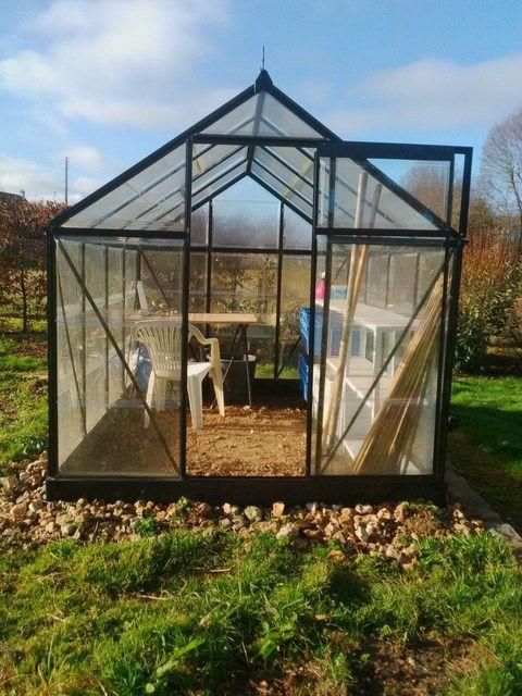 Comment Amenager Une Serre De Jardin Serre Jardin Jardins Serre
