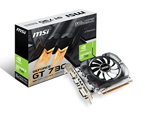 Price 54 90 Eur Msi N730 2gd3v2 Nvidia Geforce Gt 730 1600 Mhz