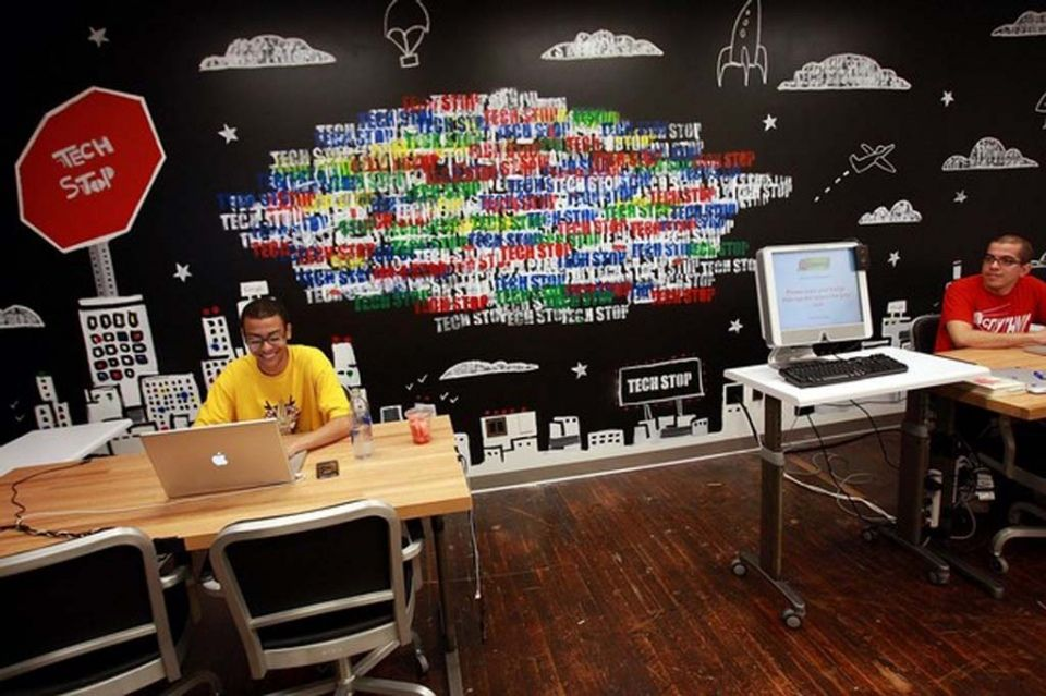 cool wallpaper for office walls Google Search Office Tech