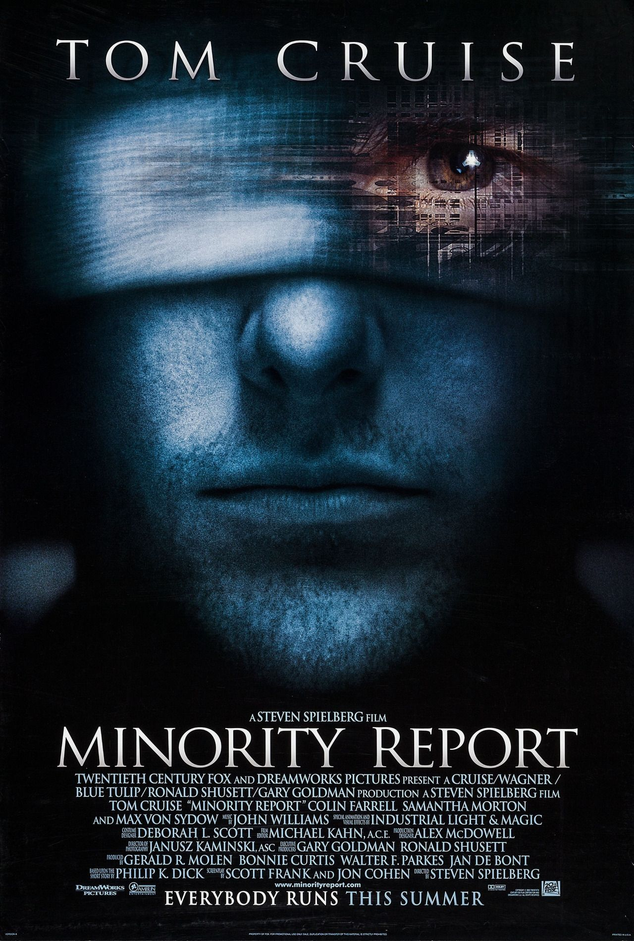 Minority Report De Steven Spielberg 2002 Tom Cruise Cine Fantastico Cine