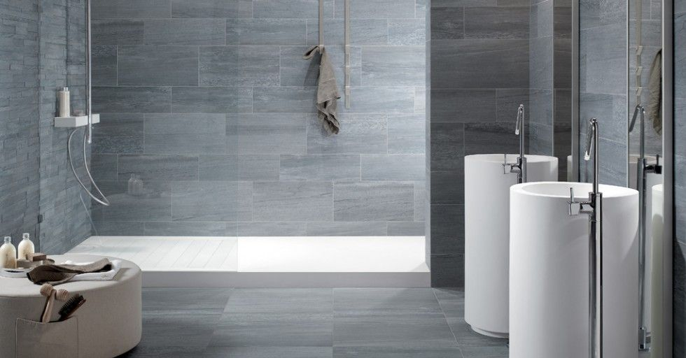 gray tile floors keope bath httpwwwtonsoftilescoukblog