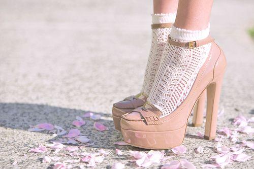 Love shoes! Heels, hakken om te inspireren!