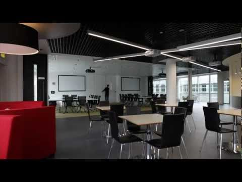 Lovely Office Design Of The Future For Autodesk. A Video Tour Of Their Cool And Funky  Offices In The UK.