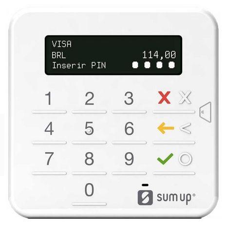 Maquininha de cartão SumUp Top [crédito/débito - Android/iOS - pessoa física] - 12 x 29,90