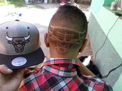 chicago bulls hair design haircut