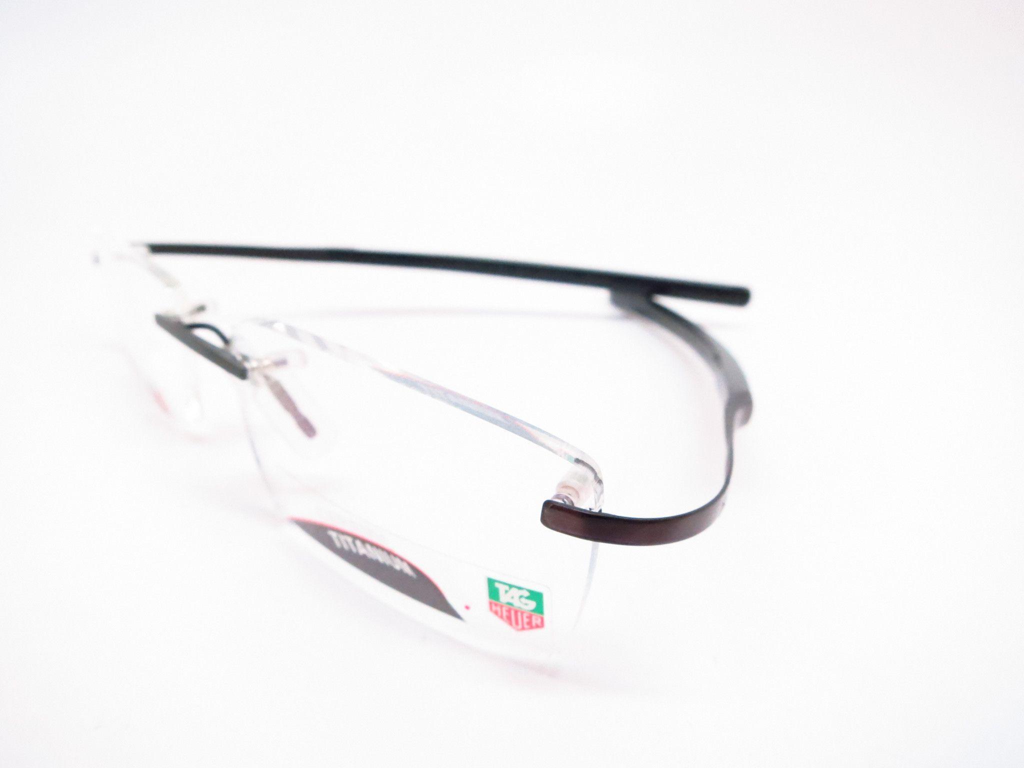 Tag Heuer TH 0304 003 Gunmetal Carbon Fiber Eyeglasses