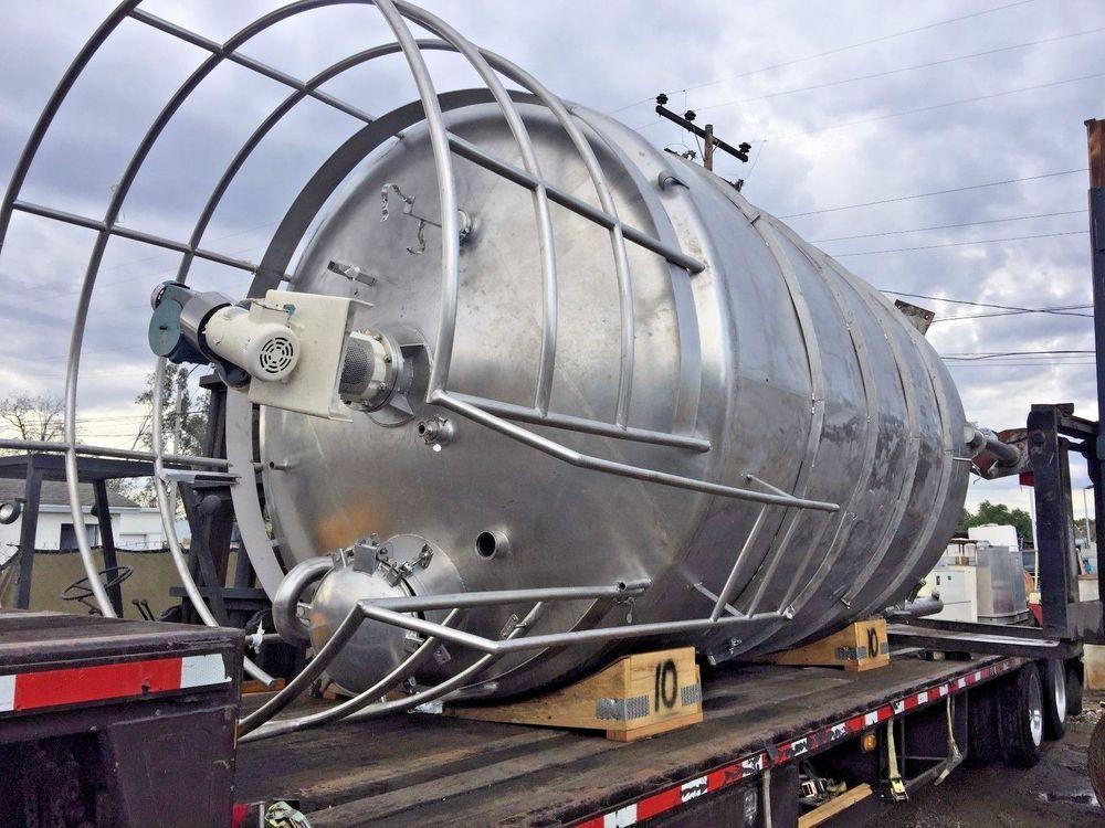 28000 ltr stainless steel vessel tankmetal type 316