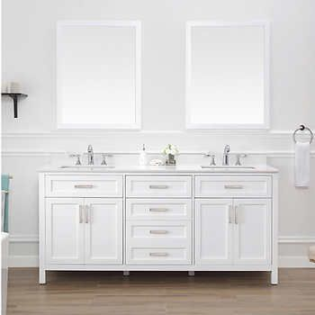 lakeshore 72 vanity by ove at costco for 1700 goes on sale rh pinterest com