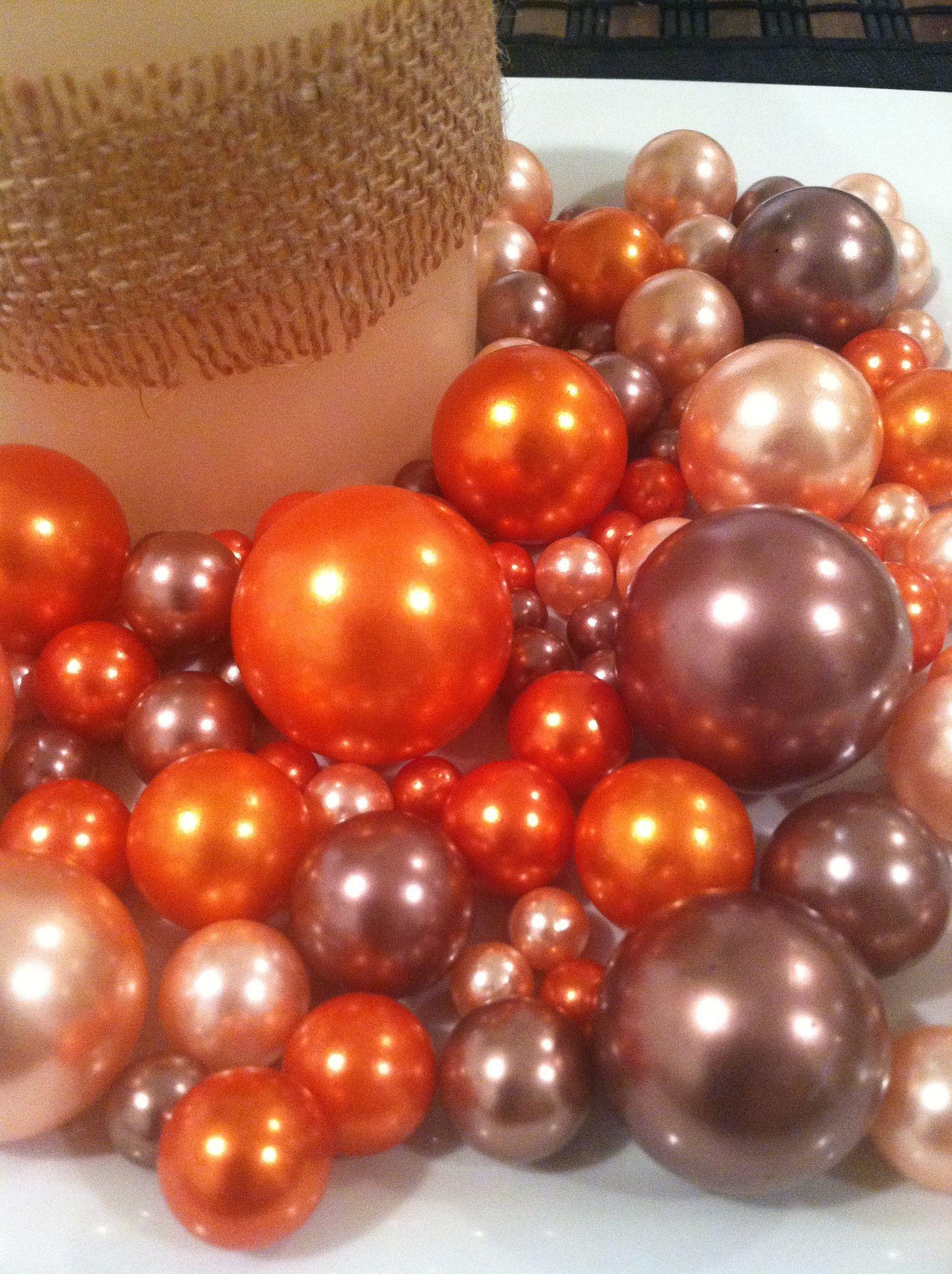 50 unique bulk vase fillers home idea fall color pearls vase bowl fillers light coral orange cocoa reviewsmspy